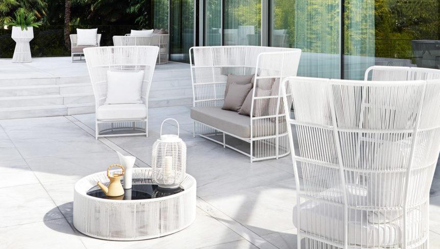Tibidabo openspace sofa for Varaschin arredo giardino