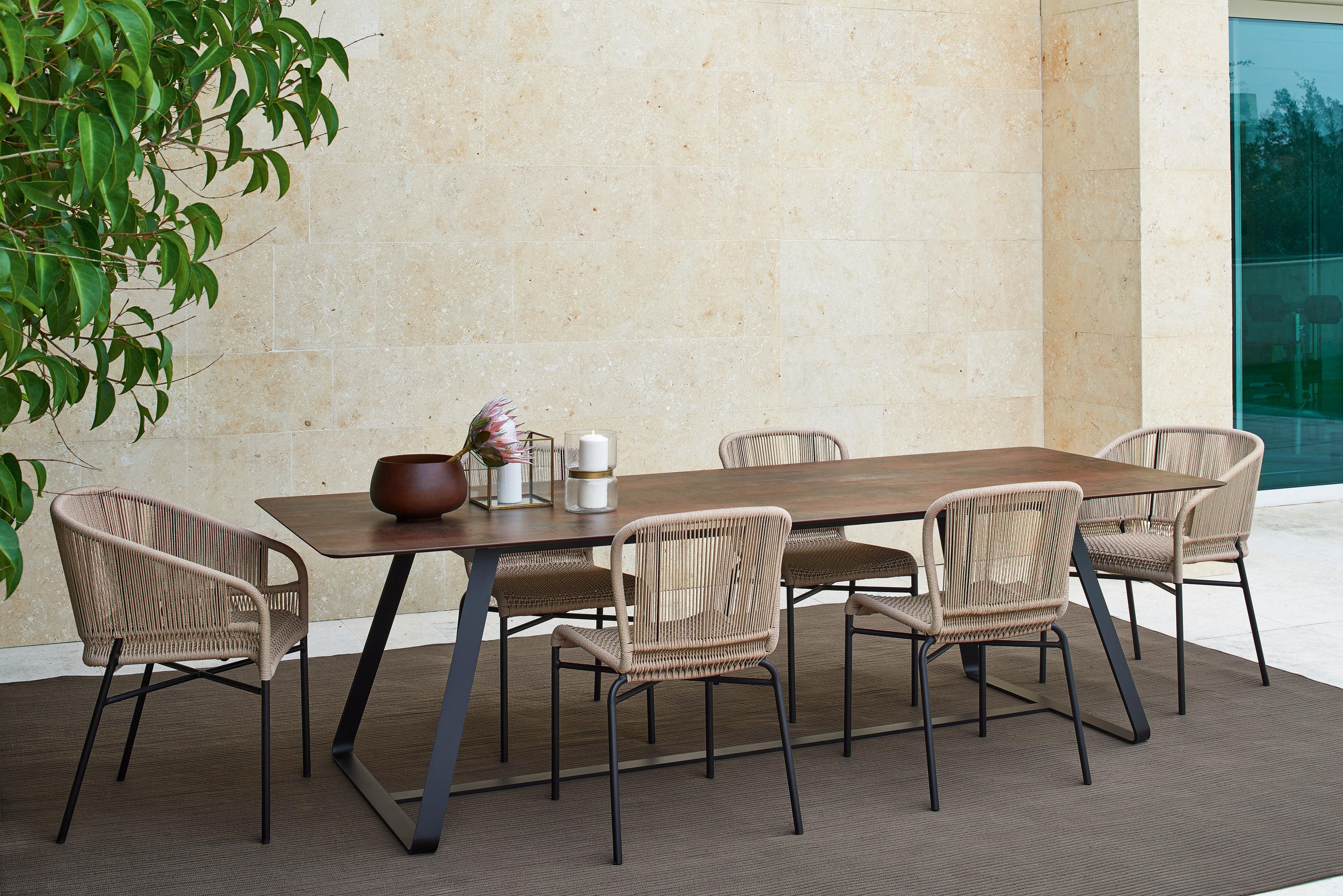 Cricket outdoor designer chair for Varaschin arredo giardino