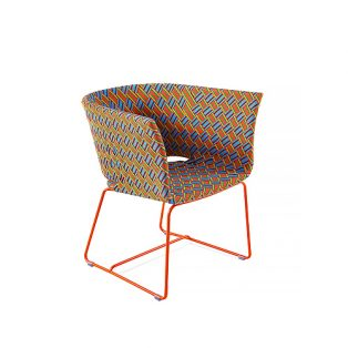 KENTE Lounge armchair
