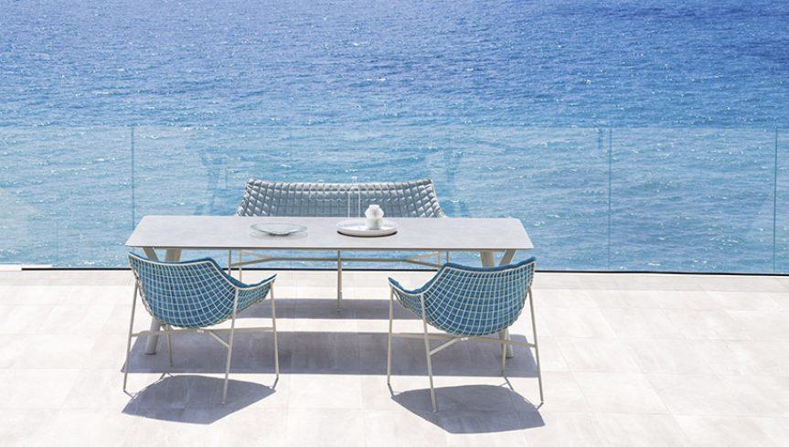 SUMMER SET Poltrona Lounge - 3