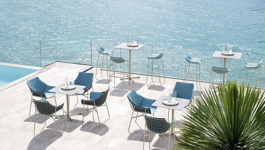 SUMMER SET Dining armchair - 4