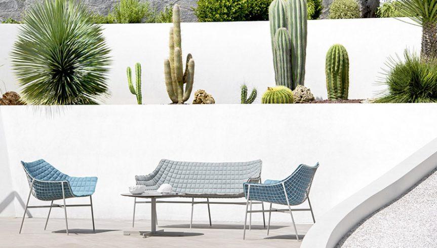 SUMMER SET Poltrona Lounge - 4