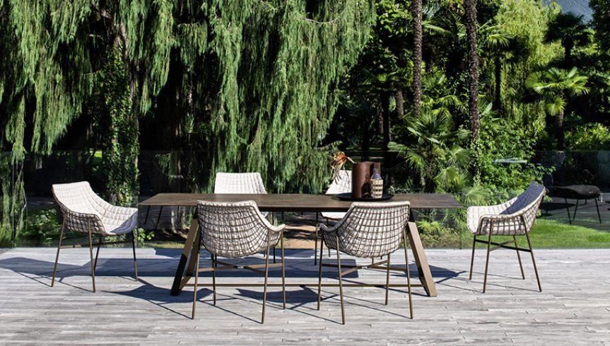 SUMMER SET Dining armchair - 3