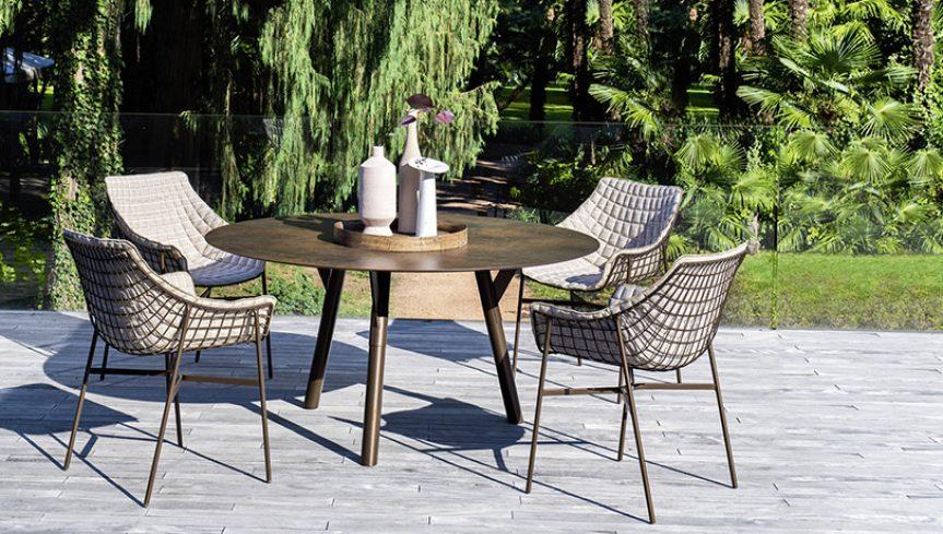 SUMMER SET Dining armchair - 1