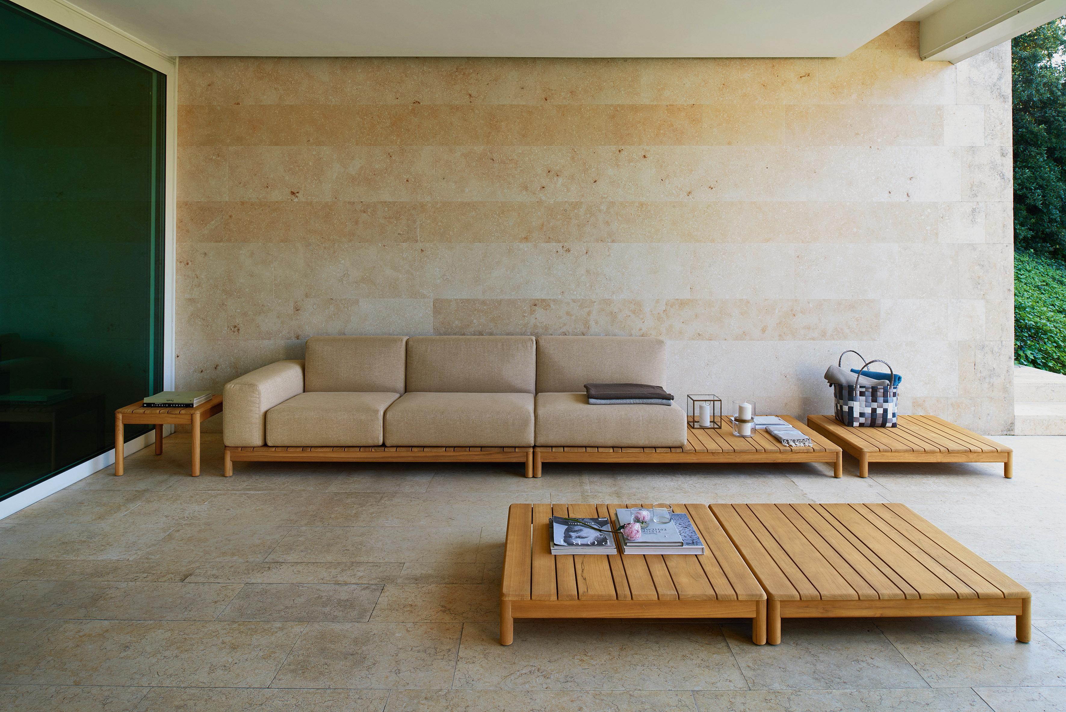 Barcode divano componibile varaschin for Sofa exterior jardim