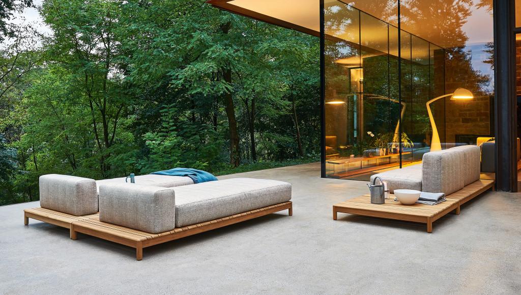 Barcode divano componibile varaschin for Varaschin arredo giardino