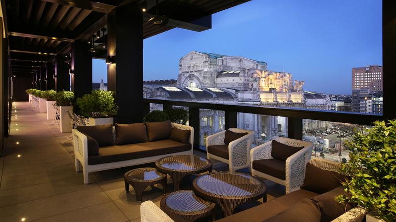 Outdoor living Varaschin arredamento Hotel