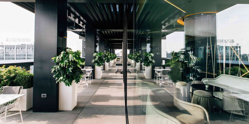 Terrazza Hotel arredamento per esterni Varaschin