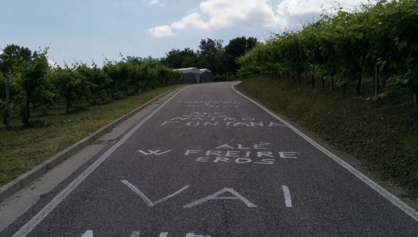 Scritte d'incoraggiamnto_Giro d'Italia2017