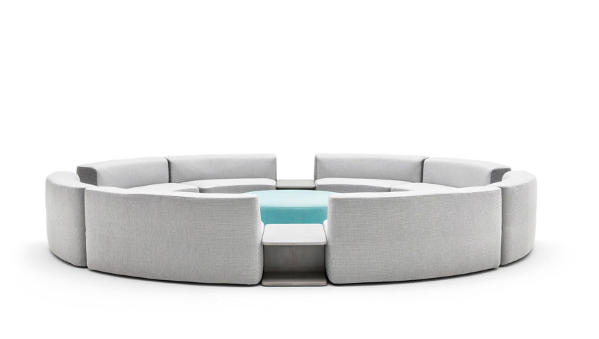 BELT Cement coffee table - 3