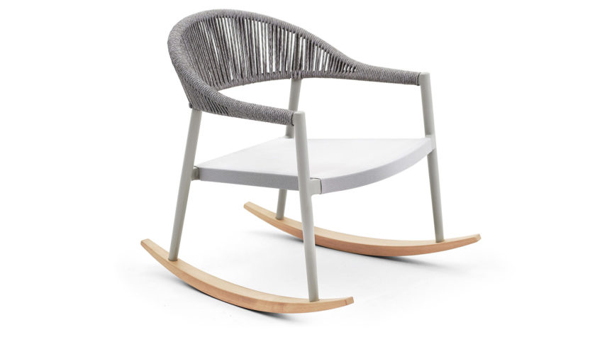 CLEVER Lounge rocking armchair - 4