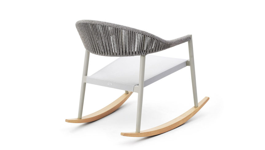 CLEVER Lounge rocking armchair - 5