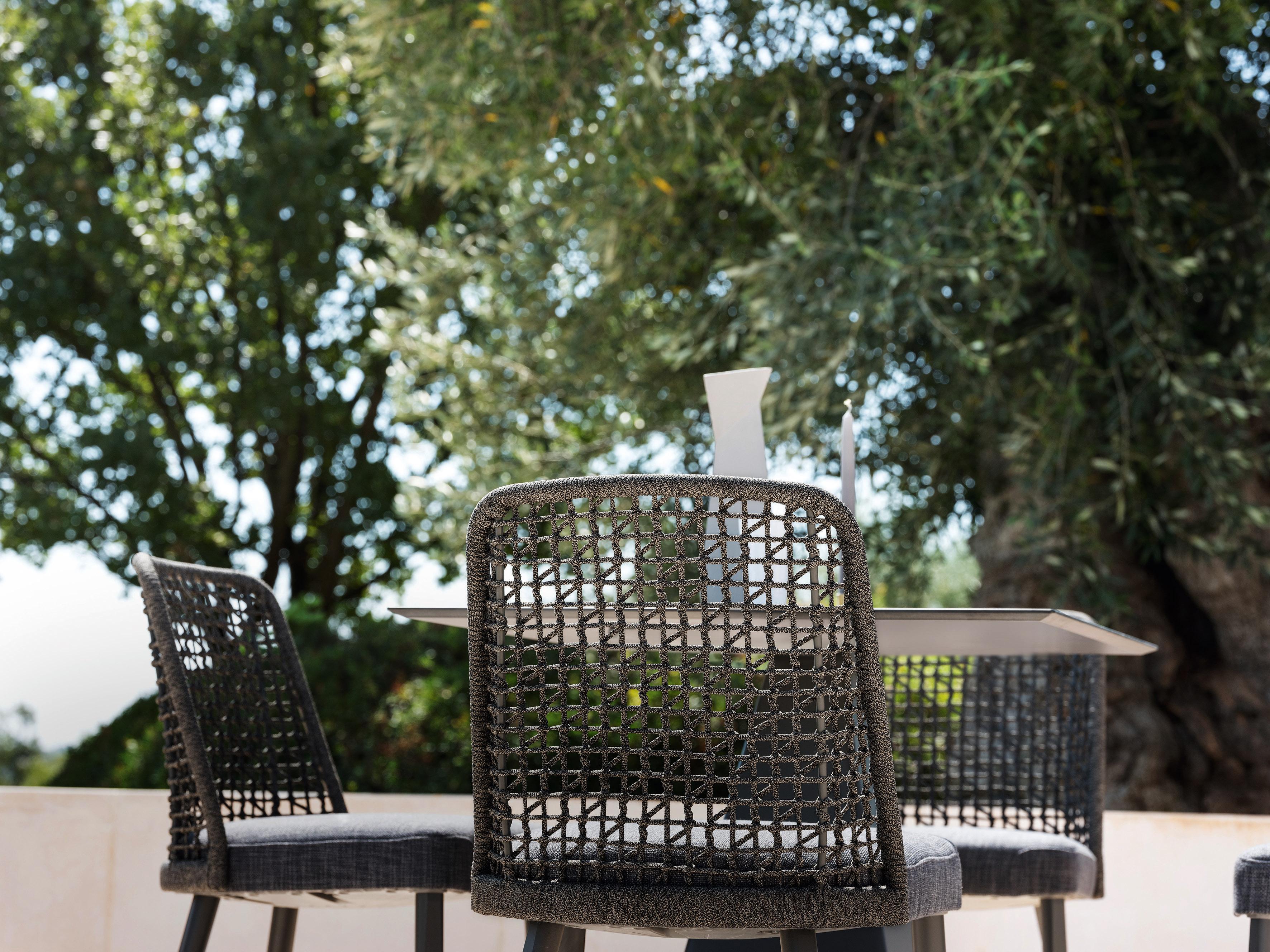 Sedia da esterno in alluminio per ambienti casa o contract varaschin