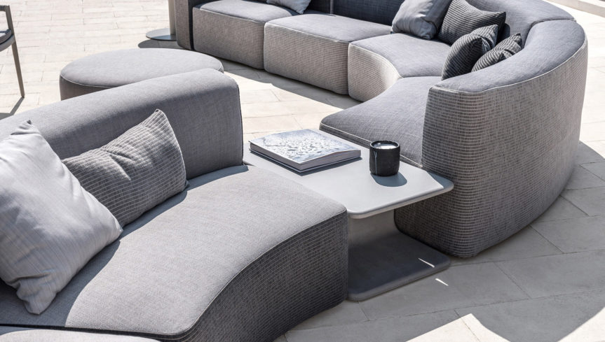 BELT Cement coffee table - 1