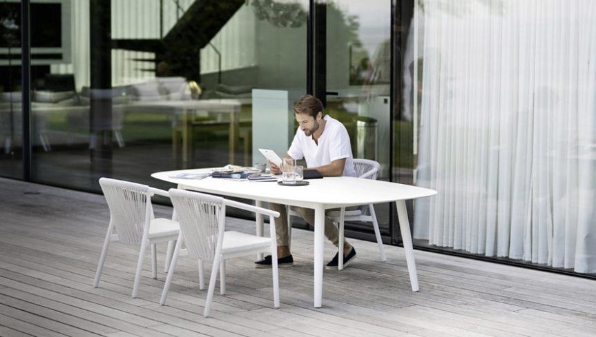 ELLISSE Tisch LOW - 3