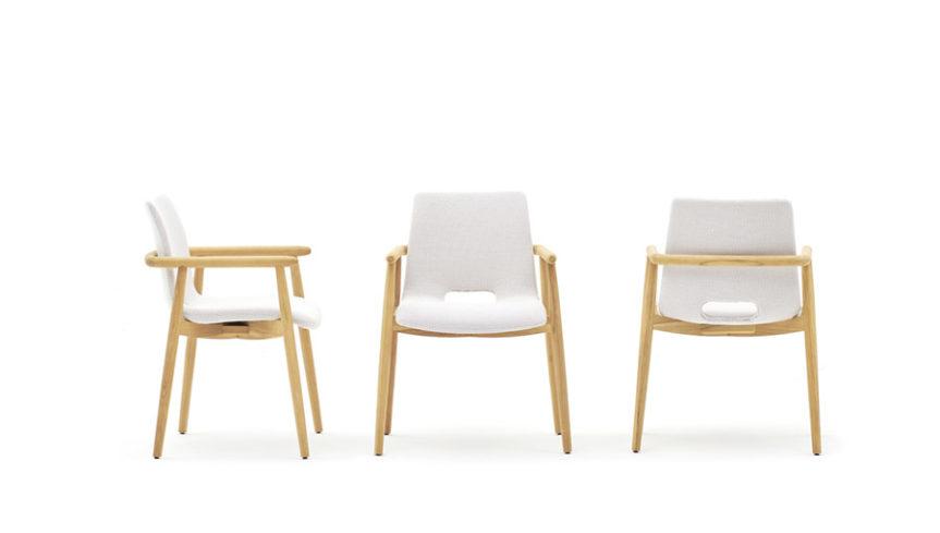 LAPIS Armlehnen-Stuhl - 3