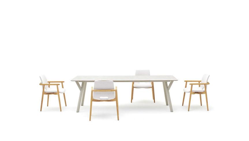 LAPIS Armlehnen-Stuhl - 4