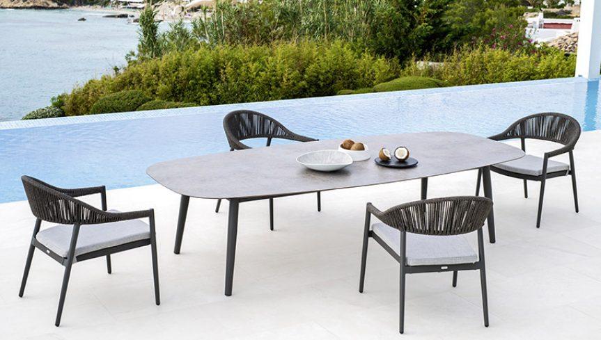 ELLISSE Tisch LOW - 1