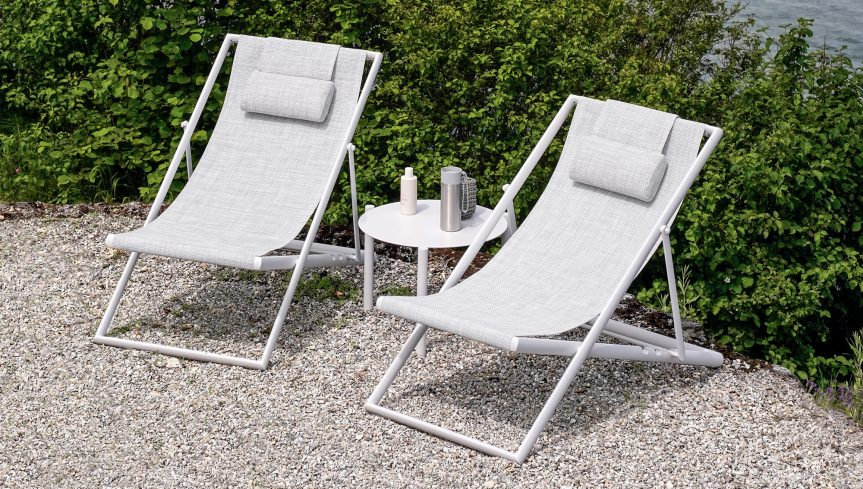 CLEVER Foldable Deckchair - 2