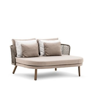 Emma daybed compact schienale basso