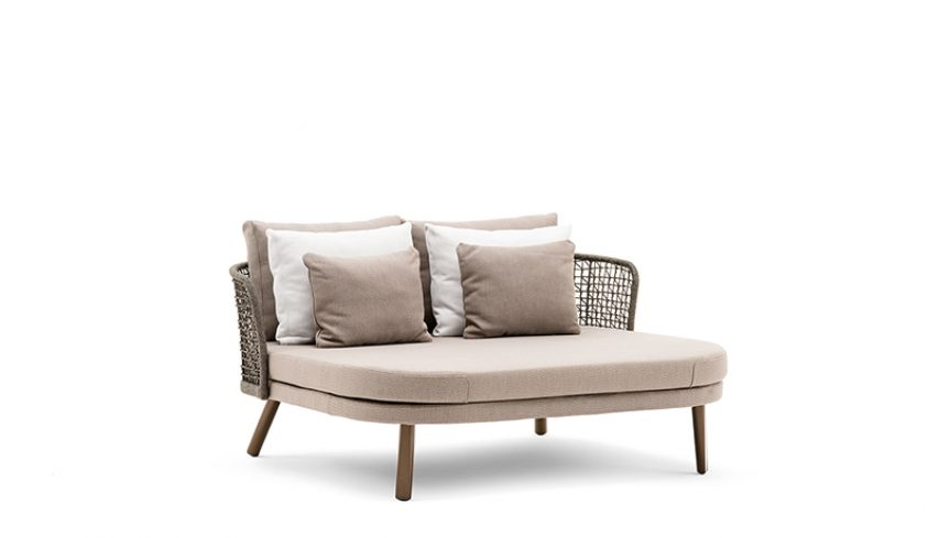 Emma daybed compact schienale basso - 7