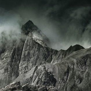 Mountain crag