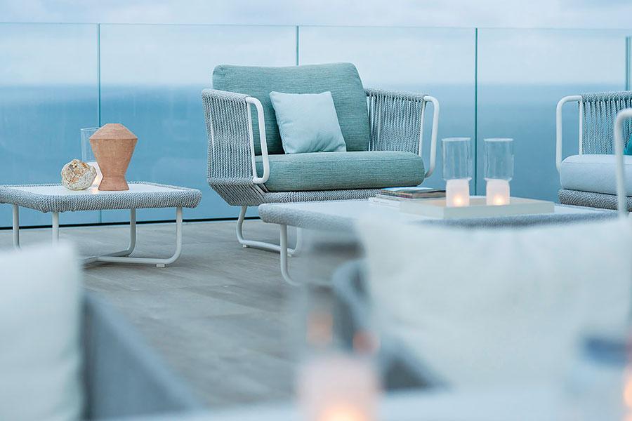 Varaschin - poltrona Babylon - Vivi l'outdoor - Relaxed