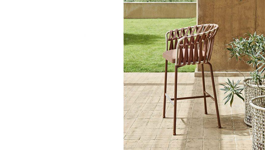 EMMA CROSS stool - 3