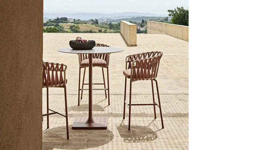 EMMA CROSS stool - 2