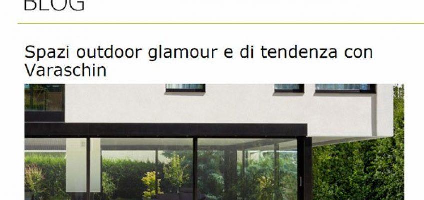 Varaschin - News - Viadurini racconta l'arredo outdoor glamour di Varaschin