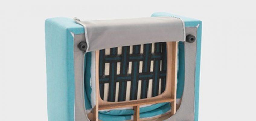 Varaschin - News - Inside an outdoor padded sofa