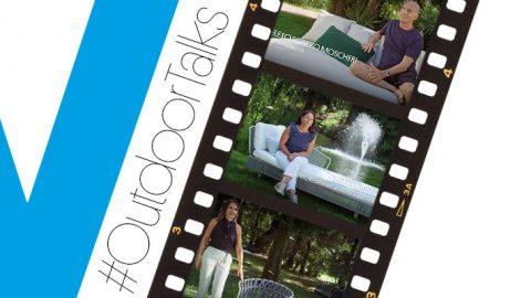 #OutdoorTalks: le plaisir de parler de nous et de nos collections dans un lieu suggestif entouré par la nature.