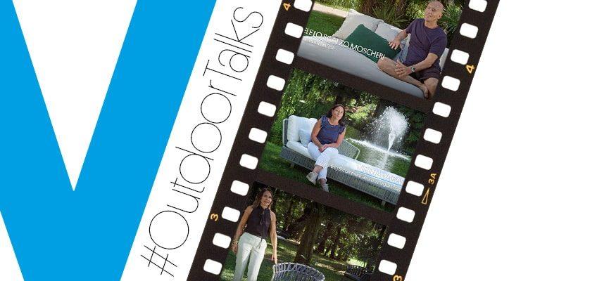 Varaschin - News - #OutdoorTalks: el placer de hablar de nosotros y de nuestras colecciones en un lugar sugestivo rodeado de naturaleza.