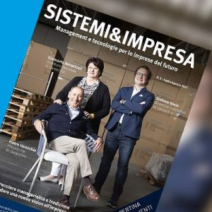 Varschin - Varaschin sulla copertina di Sistemi&Impresa n.5/2021