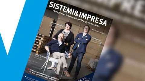 Varaschin on the cover of Sistemi&Impresa n.5/2021