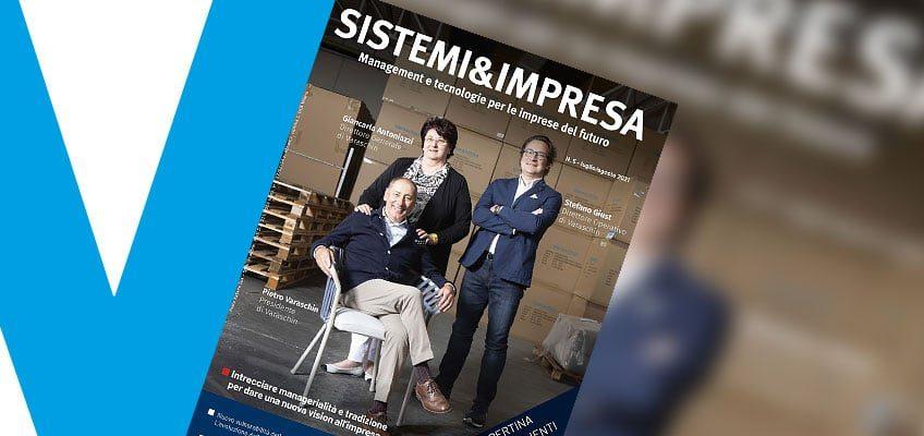 Varaschin - News - Varaschin sulla copertina di Sistemi&Impresa n.5/2021