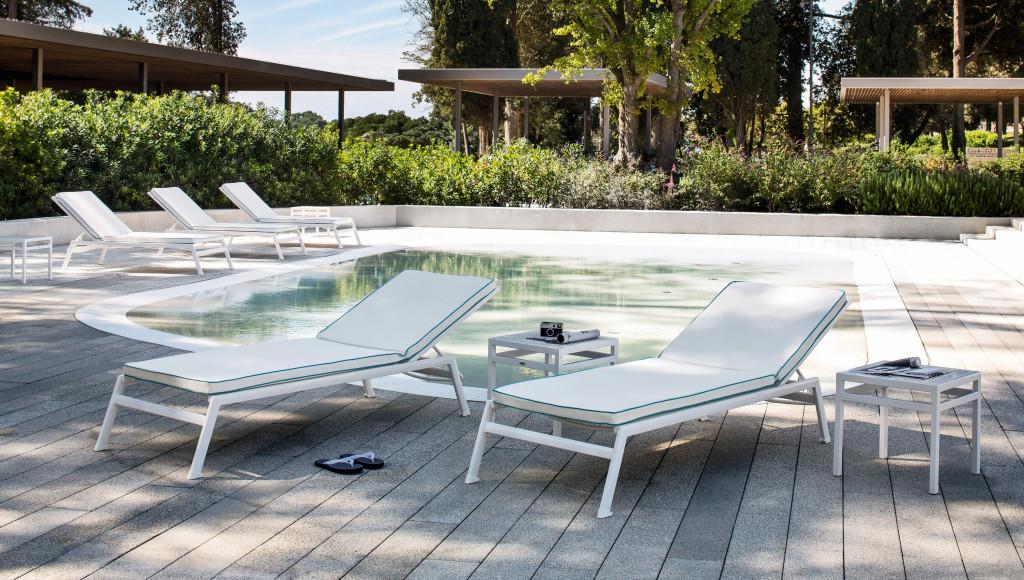 Lettino per piscina victor - Lettini piscina ...