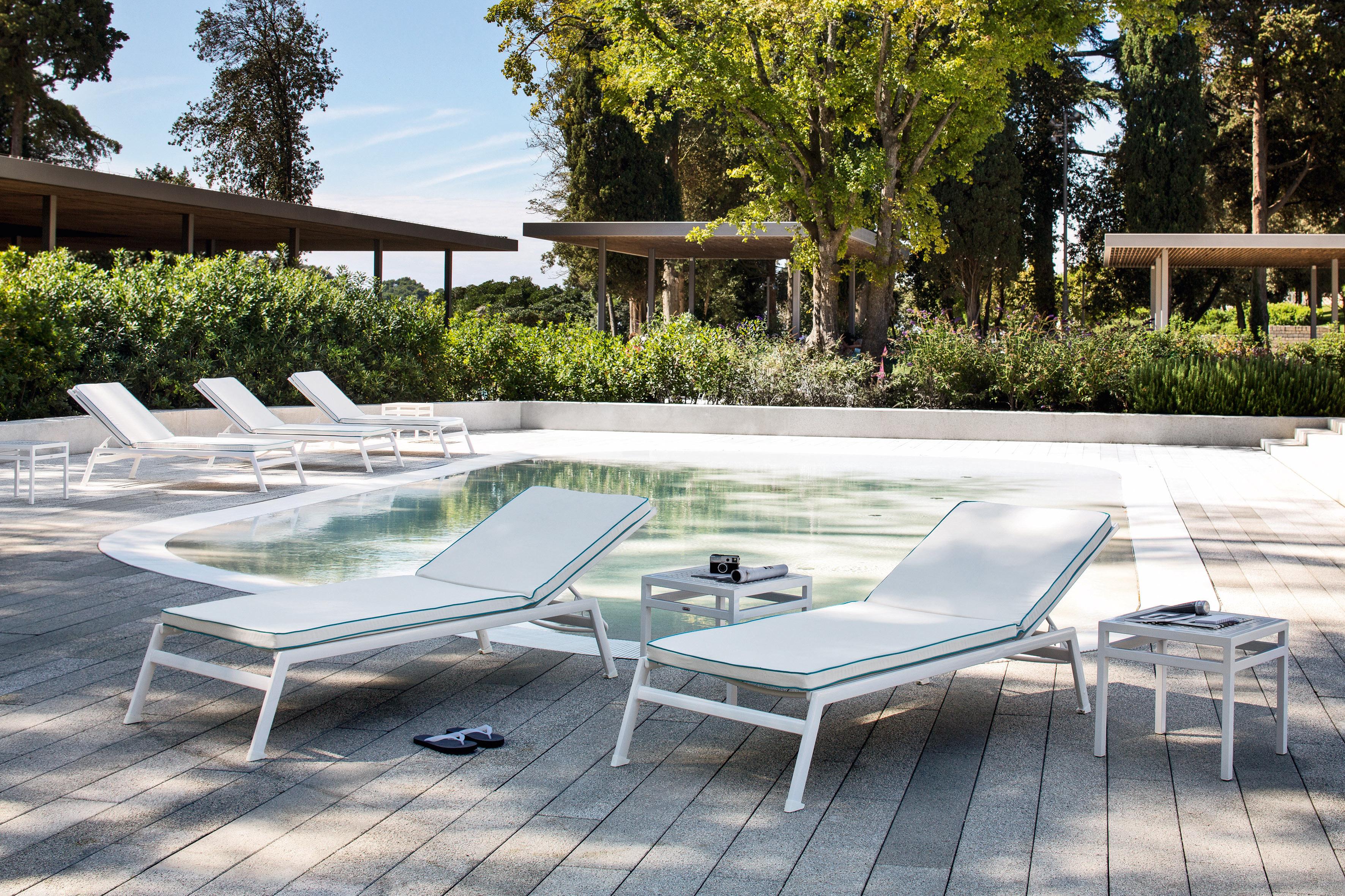 Lettino per piscina victor - Lettino piscina alluminio ...