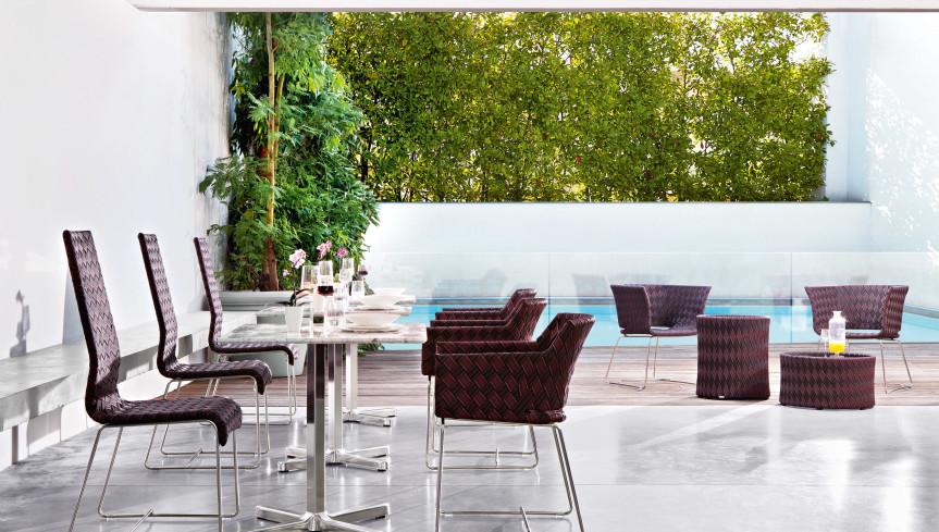 KENTE Lounge armchair - 3